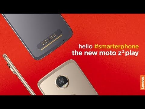 It's time to Say Goodbye to the same old and Say Hello to something different. The Moto Z2 Play!