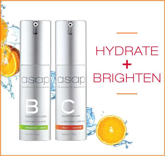 Suffering with skin fatigue this party season? asap is here to help!  Combat dull, lacklustre skin with a boost of hydration and antioxidants.  #newyear #skincare #asapskincareproducts #absoluteskinau #vitaminc #vitaminb #hydrate #brighten