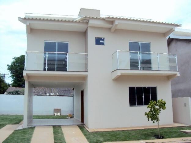 Fachadas de casas simples com varanda 30 fotos casas for Fachadas de casas modernas 1 pavimento