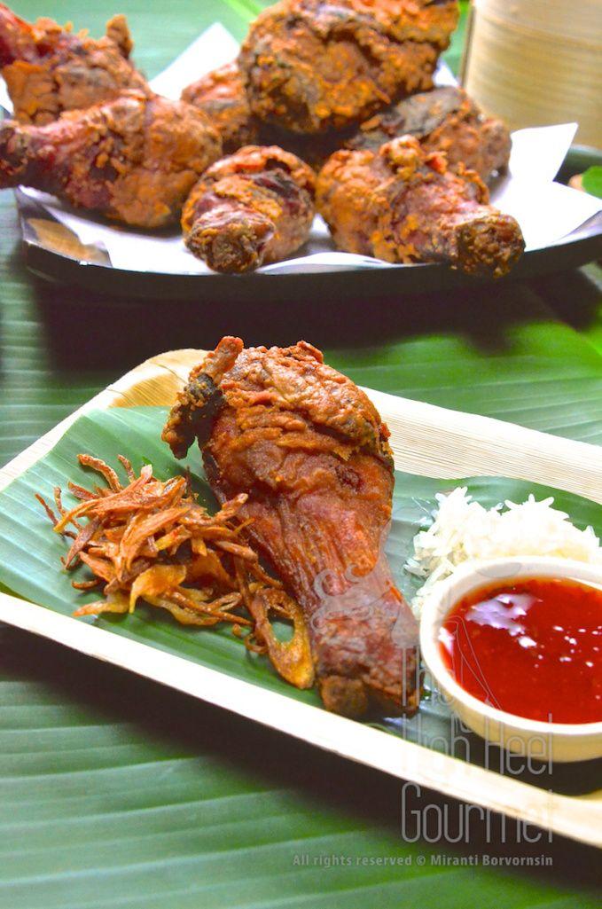 Thai Street Side Fried Chicken - Gai Todd Hat Yai by The High Heel Gourmet 5