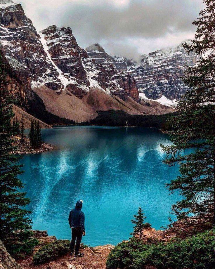 Озеро #Морейн,#Канада