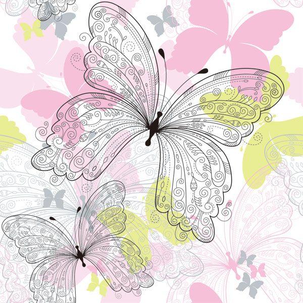 368 Best Images About Wallpaper On Pinterest: 368 Best Images About Butterflies Decoupage On Pinterest