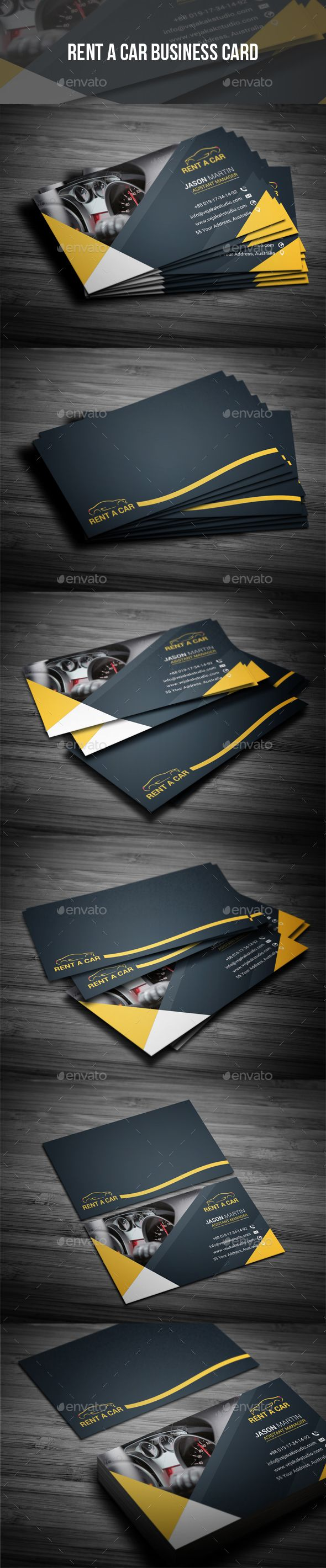 Rent A Car Business Card - Industry Specific Business Cards Download here : https://graphicriver.net/item/rent-a-car-business-card/19361594?s_rank=65&ref=Al-fatih