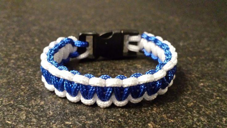 Blauw wit