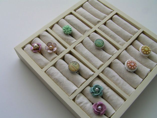 Best 25 jewelry display cases ideas on pinterest jewelry store how to ring display case diy solutioingenieria Gallery