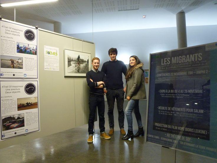 """Expo """"Les Migrants""""  - BUSQY - du 4 au 25 novembre 2016"""
