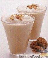 Фото к рецепту: Молочно-кофейный коктейль (кофейный милкшейк)