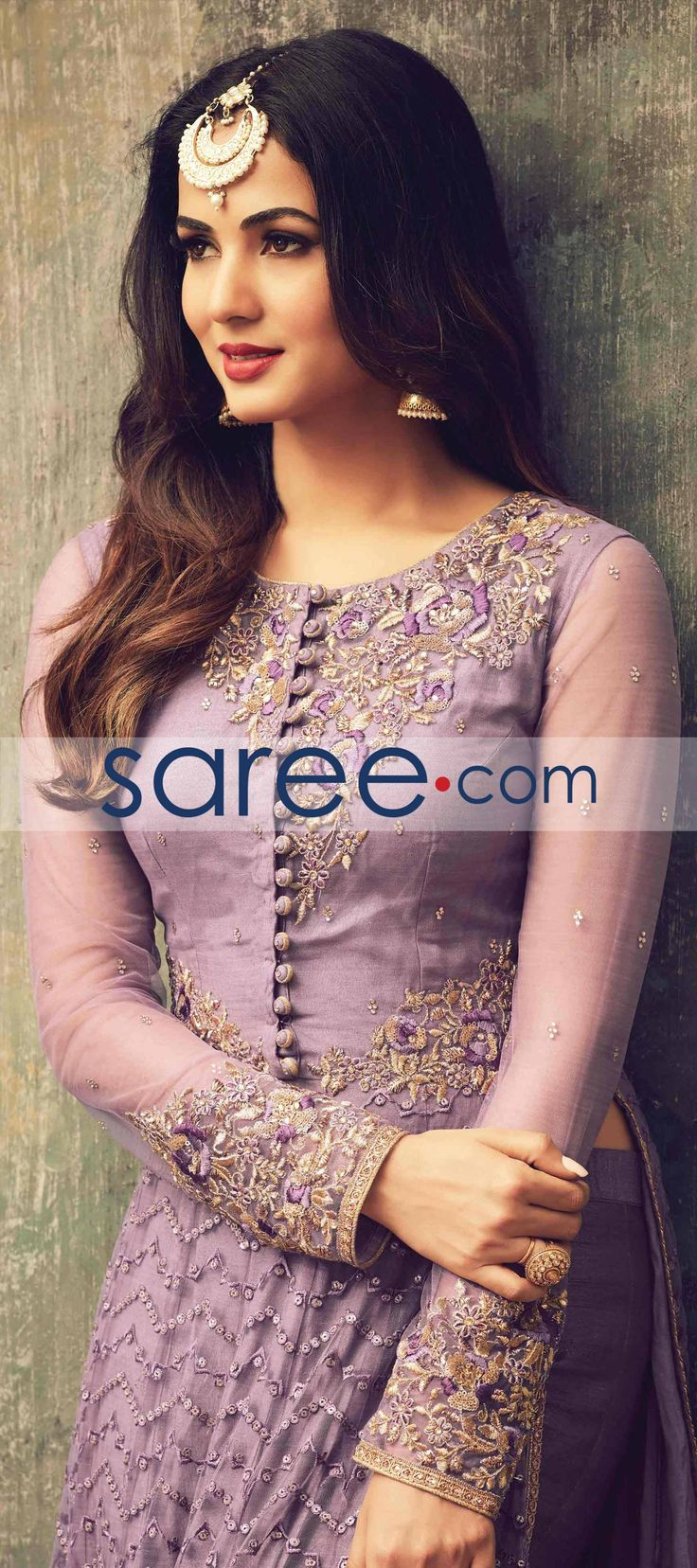 PURPLE NET ANARKALI SUIT WITH EMBROIDERY WORK #SalwarSuit #SalwarKameez #AnarkaliSuits #PartywearSalwarSuits #SalwarSuits #Indowestern