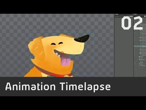 Timelapse! (02) - Marley Animation in Spine - YouTube