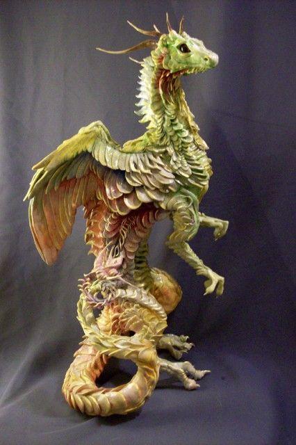 Ellen Jewett-umetnica nadrealnih skulptura! - Page 3 6e8daa351bbd81a087be662f6b08b117--fantasy-creatures-clay-ideas