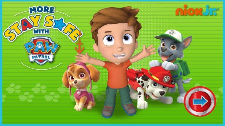 Paw Patrol More Stay Safe - Kids Game Online