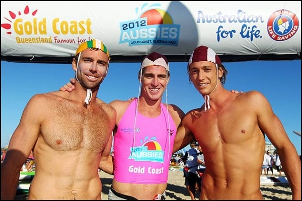 Hugh Dougherty (second), Shannon Eckstein (first) and Ali Day (third).
