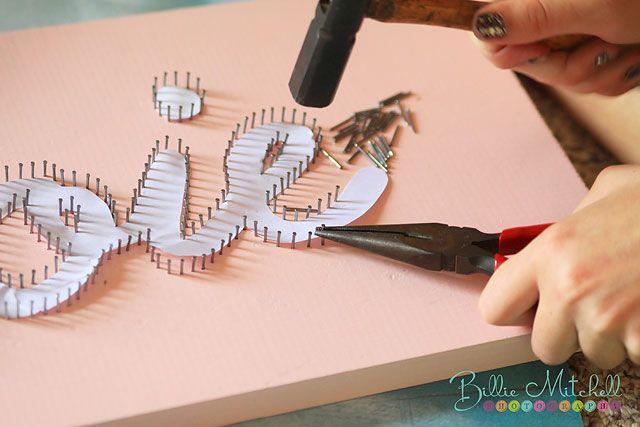 Billie Mitchell Photography: Nails + String = Art   Hendersonville, NC Photographer