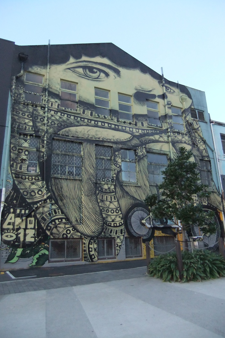 Why can't australia have more grafiti art. This ones from New Plymouth, Newzeland. I dropped by recently.