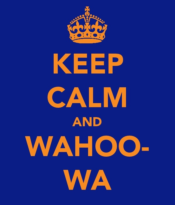 I am proud to be a Wahoo everyday!