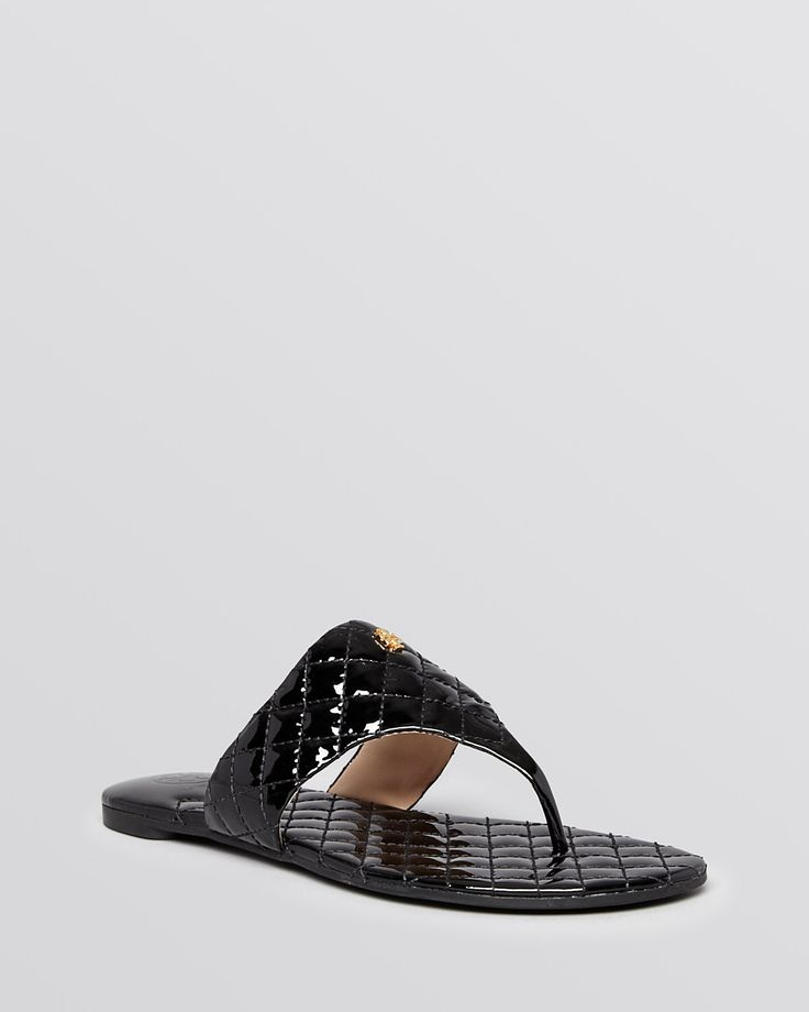 Tory Burch Kent Thong Sandals - cute and comfy sandals.
