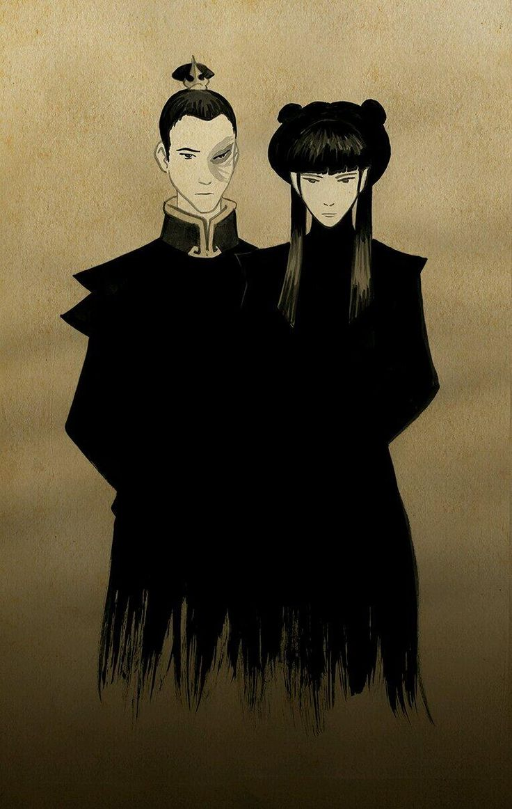 Fun fact: Bryan Konietzko ships Maiko (Mai and Zuko)! Art below was drawn by Bryke! #Maiko pic.twitter.com/30whQQbkog