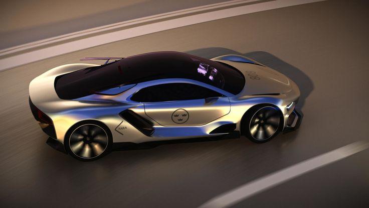 Каким будет электрический суперкар Saab - Автоцентр.ua