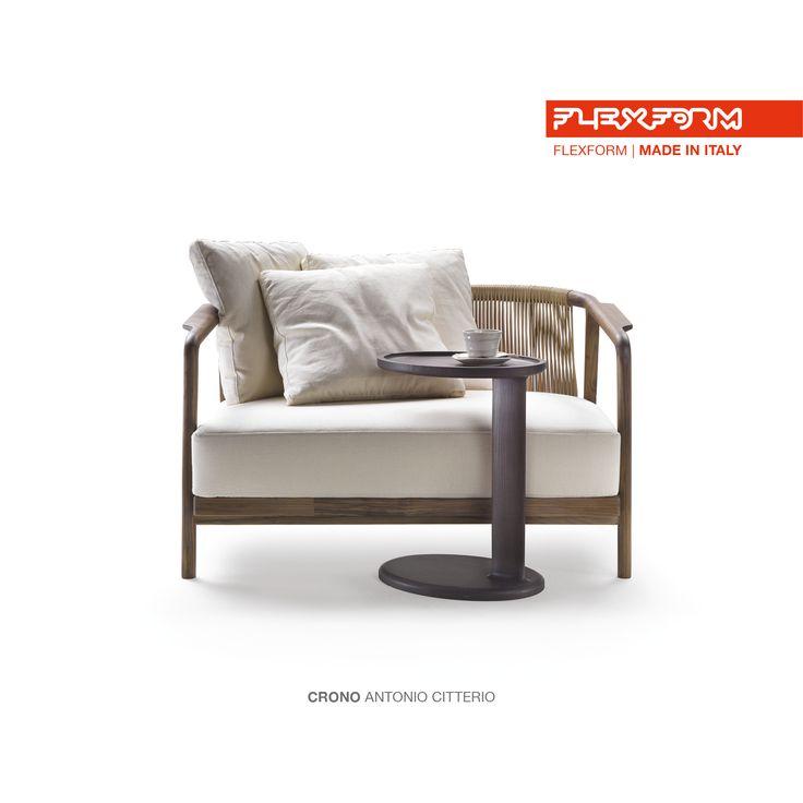 #FLEXFORM CRONO small sofa #design Antonio Citterio