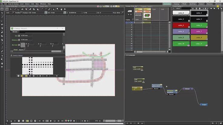 Opentoonz Tutorial 9 Effects Nodes on Vimeo