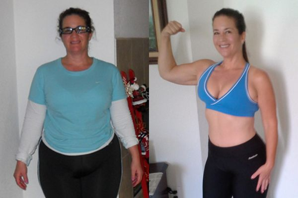 Isagenix Before & After - Cherie H. #weightloss