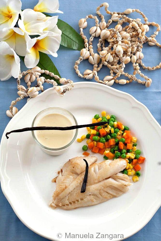 Fish fillet with tahitian vanilla sauce recipe vanilla for Fish fillet sauce