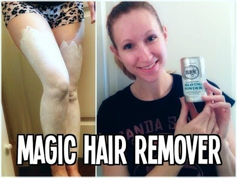 My Secret to Magic Hair Removal - Sheen-Carson since 1901 Magic Skin Conditioning Hair Powder (I haven't tried it but it looks interesting)