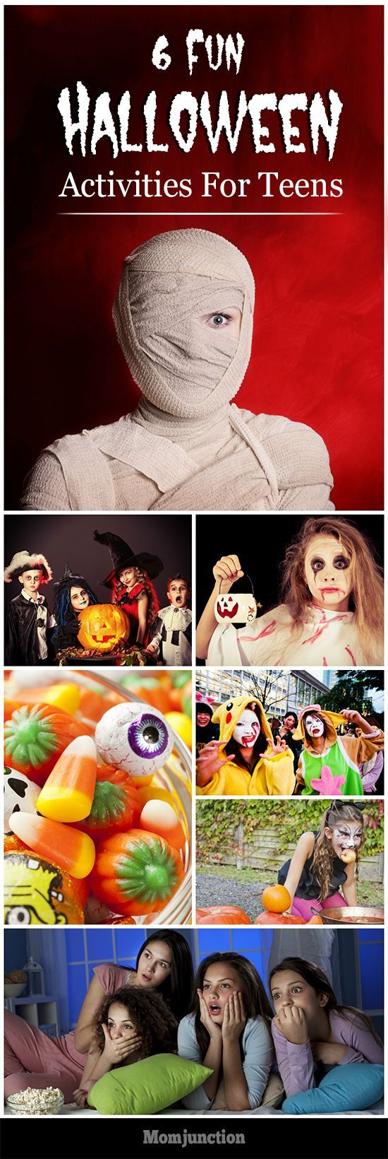6 Fun Halloween Activities For Teens: Here is our list of 6 great Halloween activities for teenagers.