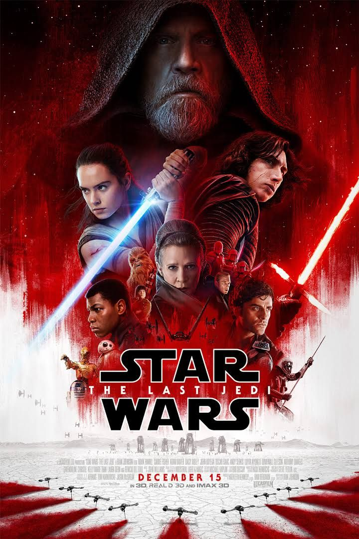 Fifty Shades of Men: Star Wars Episode VIII: The Last Jedi Movie Review...
