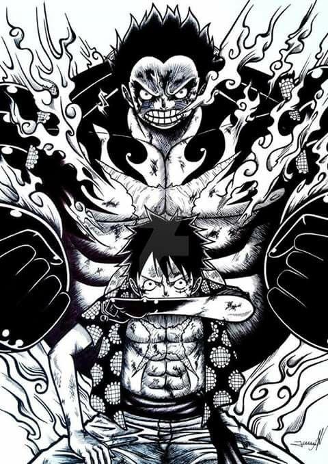 Luffy fourth gear