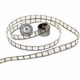 "Idea-Ology Film Stripe Ribbon Transparent .625""x3Yards"