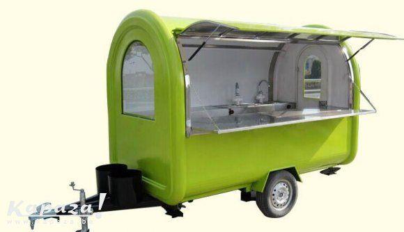 Verkoopwagen, foodtrailer,food truck | Kapaza