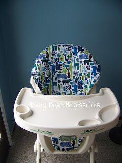 Baby Bear Necessities: High Chair Cover Tutorial