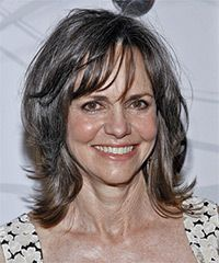 Sally Field Medium Straight Hairstyle This is my new style