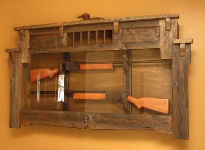 Gun Display Case Plans - WoodWorking Projects & Plans