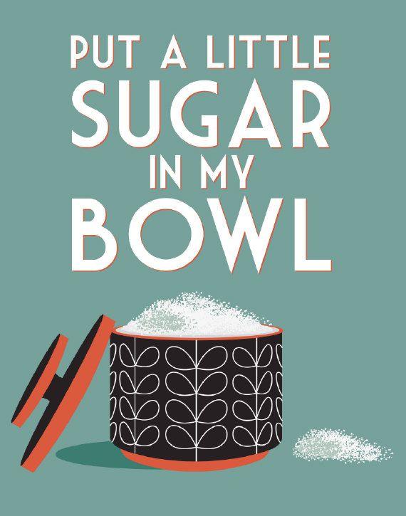 Put a little sugar in my bowl by noodlehug, lyrics by nina simone