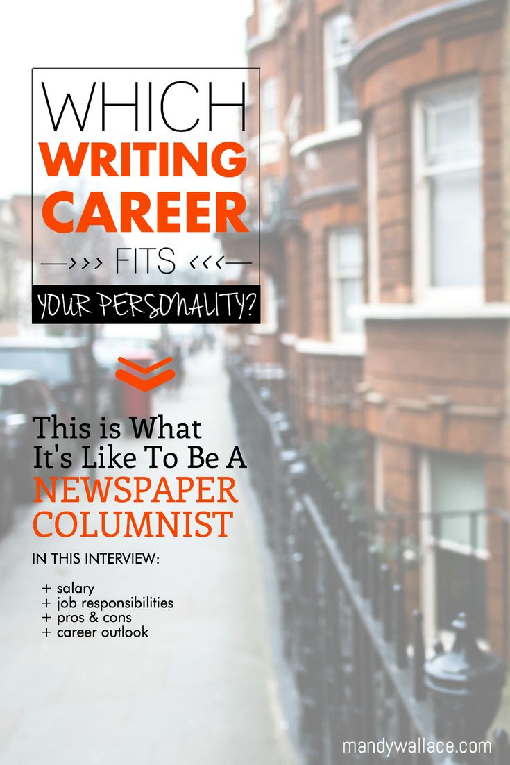 Article writer career