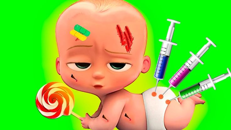 Крошка МАЛЫШ Как БОСС молокосос У доктора В парке Мультик Игра Baby Boss...