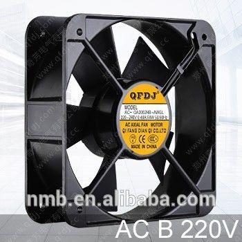 20060 ball bearing ac fan motor Roof vents 200mm