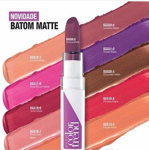 Batom Matte Avon Color Trend 3,6 g