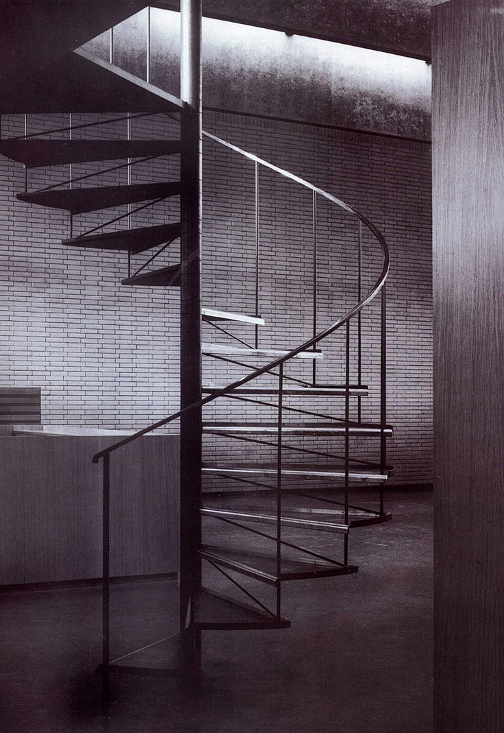 Arne Jacobsen  - Library - St. Catherines College - Oxford - 1959-1965