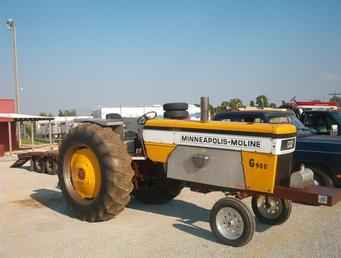 Antique Tractor Pulling Parts | Used Farm Tractors for Sale: G-900 Moline Pulling Tractor (2004-04-09 ...