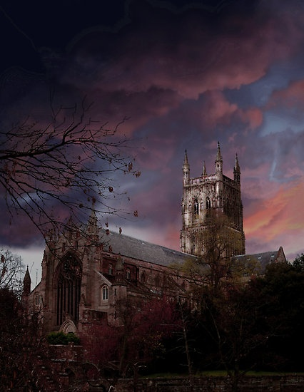 Worcester Cathedral. UK