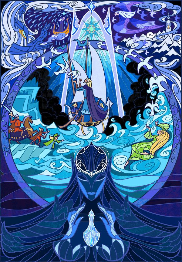 Ilustraciones de Jian Guo De El Señor de Los Anillos (The Lord of the Rings)