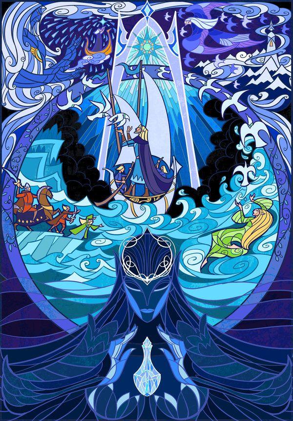 Ilustraciones de Jian Guo De El Señor de Los Anillos (The Lord of the Rings)