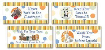 Eureka Suzys Zoo Wags and Whiskers Classroom Rules Bulletin Board Sets * Want to know more, click on the image.
