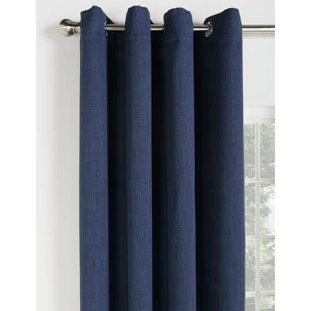 Buy Curtina Hudson Lined Curtains - 117 x 183cm - Navy at Argos.co.uk - Your Online Shop for Curtains, Blinds, curtains and accessories, Home furnishings, Home and garden.
