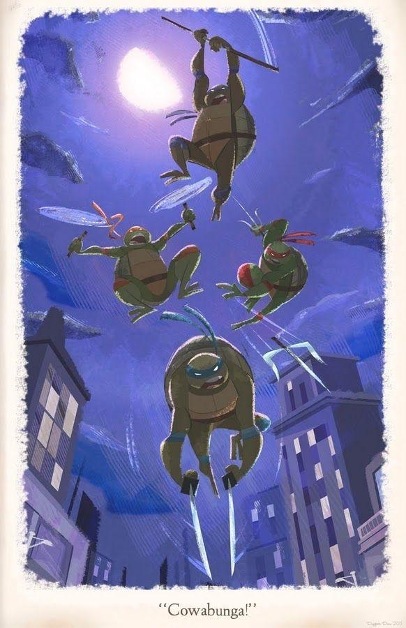 Teenage Mutant Ninja Turtles Art Show