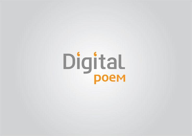 Digital poem logo ver1 | Flickr - Photo Sharing!