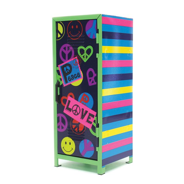 Novelty Locker Desktop Storage